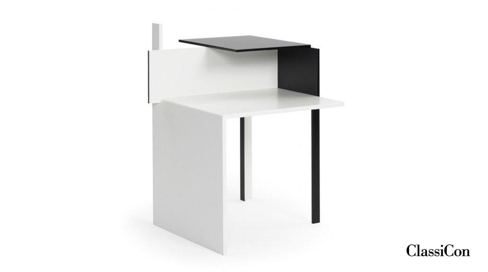 classicon beistelltisch de stijl eileen gray 1922. Black Bedroom Furniture Sets. Home Design Ideas