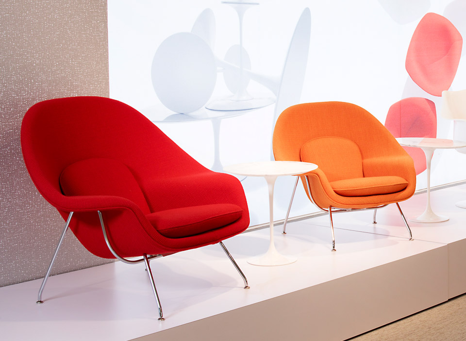 Knoll International Saarinen Womb Stuhl