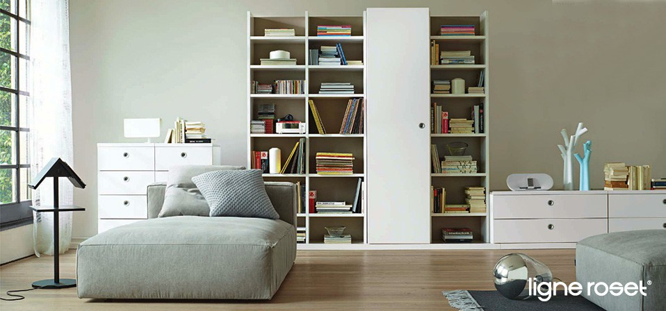 ligne roset regale und schr nke drifte wohnform. Black Bedroom Furniture Sets. Home Design Ideas