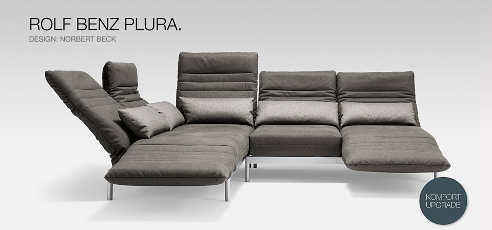 rolf benz plura mehr als ein sofa drifte wohnform. Black Bedroom Furniture Sets. Home Design Ideas