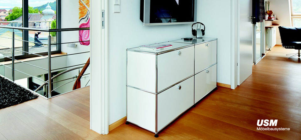 usm haller sideboard e2 drifte wohnform. Black Bedroom Furniture Sets. Home Design Ideas
