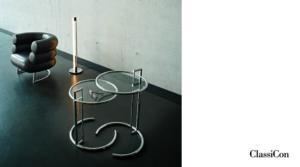 Beautiful Classicon U Adjustable Table E Eileen Gray With Eileen Gray Tisch