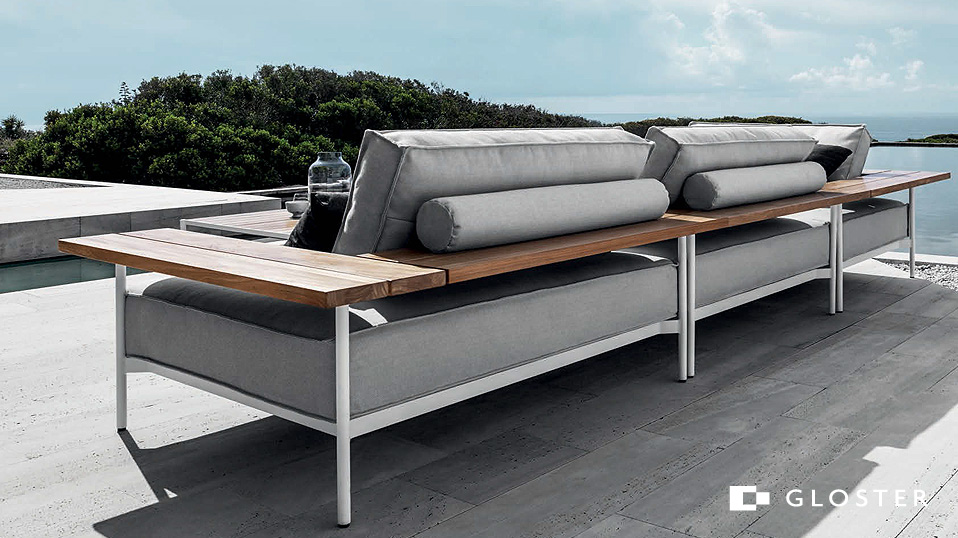 Gloster Tray Lounge - Drifte Wohnform