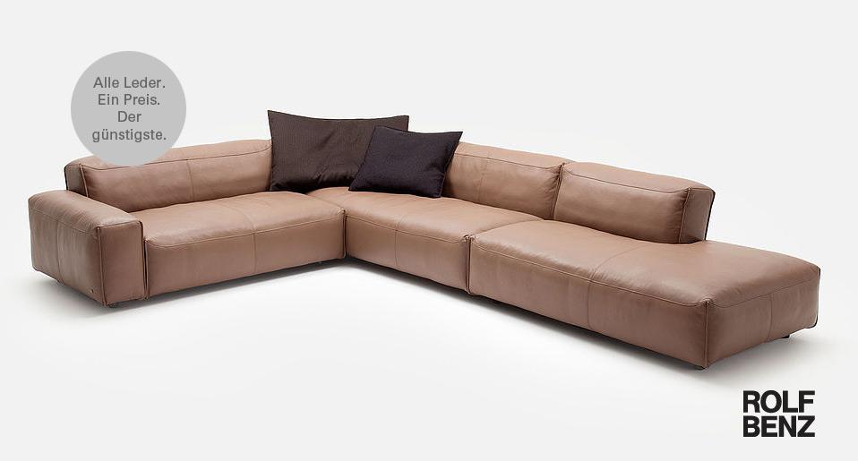 Rolf Benz Sofa MIO - Drifte Wohnform