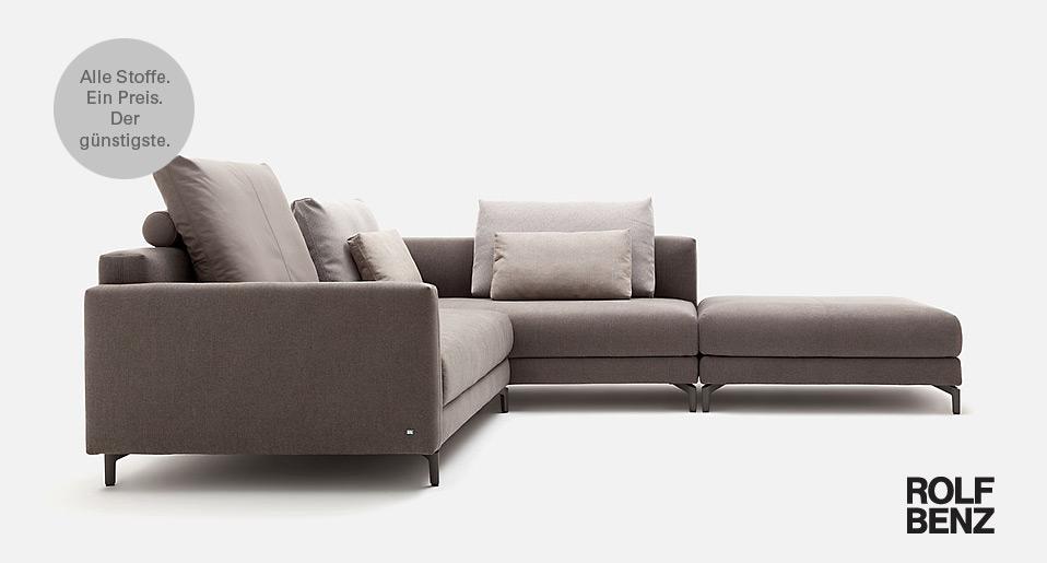 Rolf Benz Sofa Nuvola - Drifte Wohnform