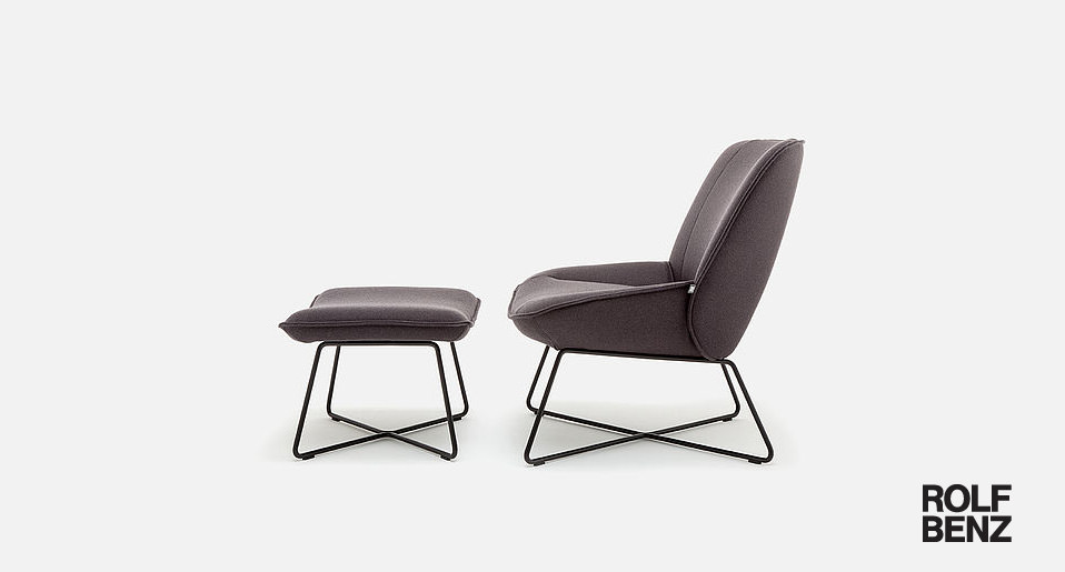Rolf Benz Sessel 383 - Drifte Wohnform