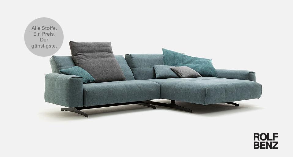 Sofa Rolf Benz 50 bei - Drifte Wohnform