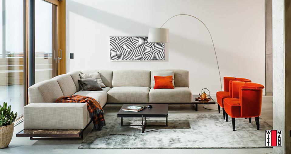 Wittmann Sofa Palais - Drifte Wohnform