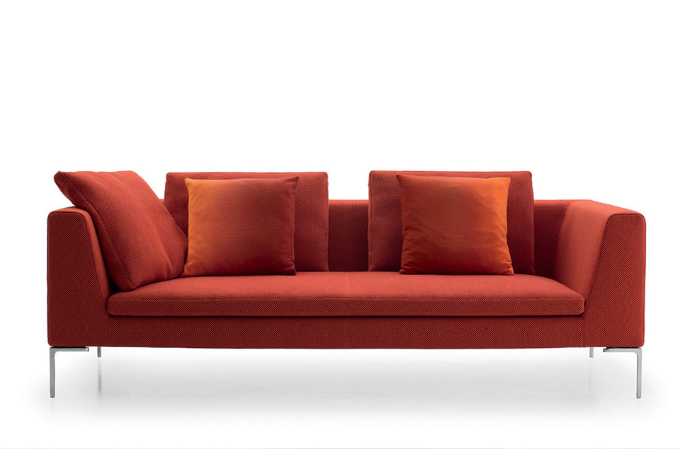b b italia sofa charles drifte wohnform. Black Bedroom Furniture Sets. Home Design Ideas