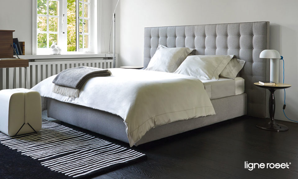 ligne roset betten und bettw sche drifte wohnform. Black Bedroom Furniture Sets. Home Design Ideas