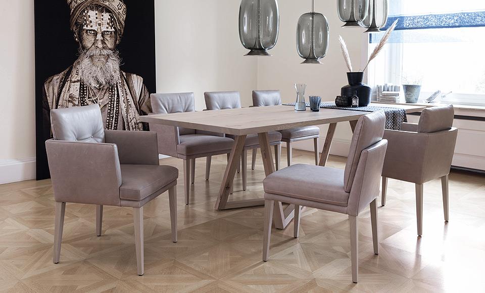 bw bielefelder werkst tten esstisch polo drifte wohnform. Black Bedroom Furniture Sets. Home Design Ideas