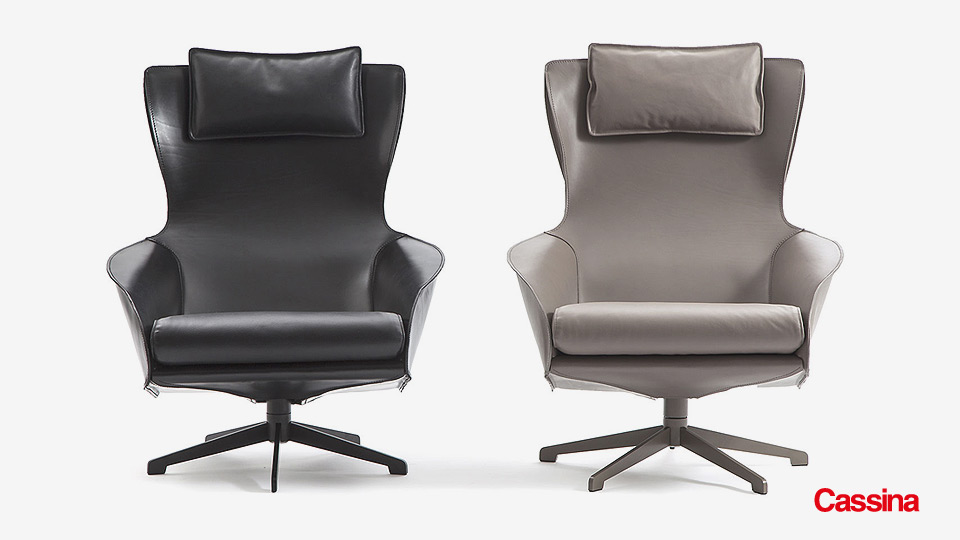cassina 423 cab lounge chair drifte wohnform. Black Bedroom Furniture Sets. Home Design Ideas