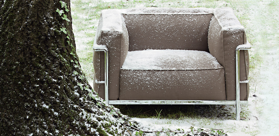 Cassina LC3 Outdoor Sofa und Sessel