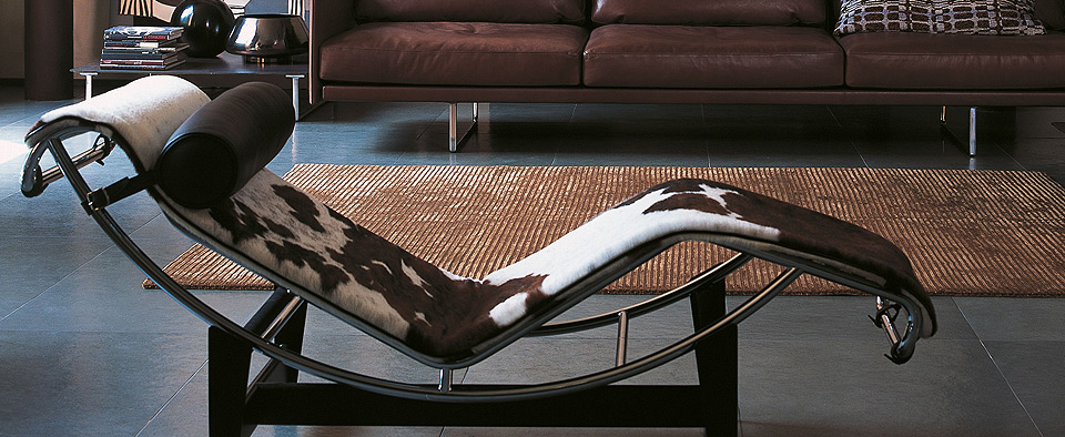Cassina LC4 Chaiselongue Le Corbusier, Jeanneret, Perriand