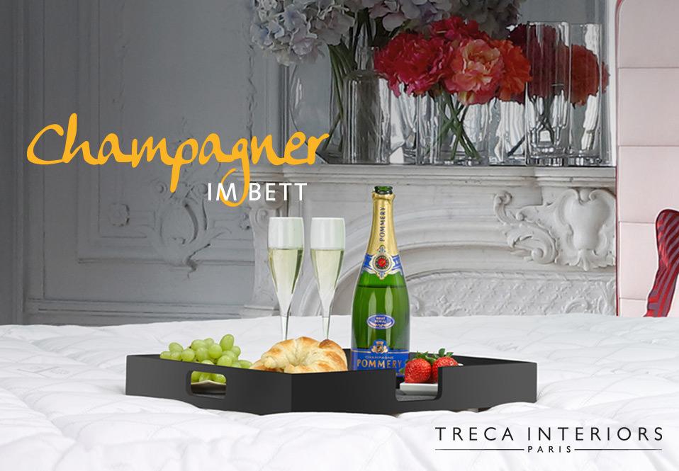 champagner im bett drifte wohnform. Black Bedroom Furniture Sets. Home Design Ideas