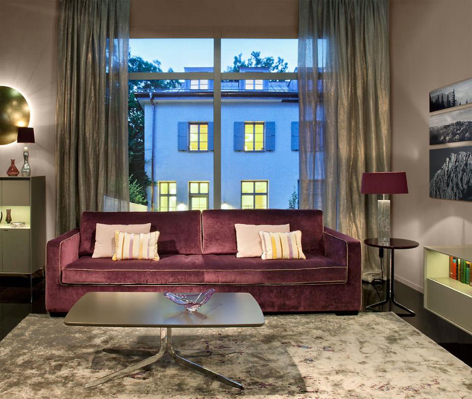 sofa sessel kombination sofa kombination mit gemtlichen stoff dunkelgrau sofa sessel. Black Bedroom Furniture Sets. Home Design Ideas