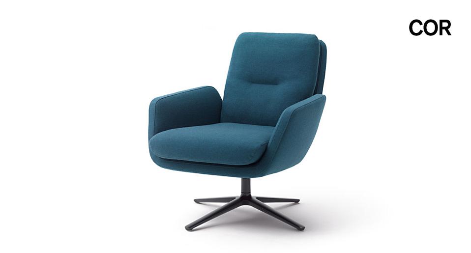 sessel cordia von cor drifte wohnform. Black Bedroom Furniture Sets. Home Design Ideas