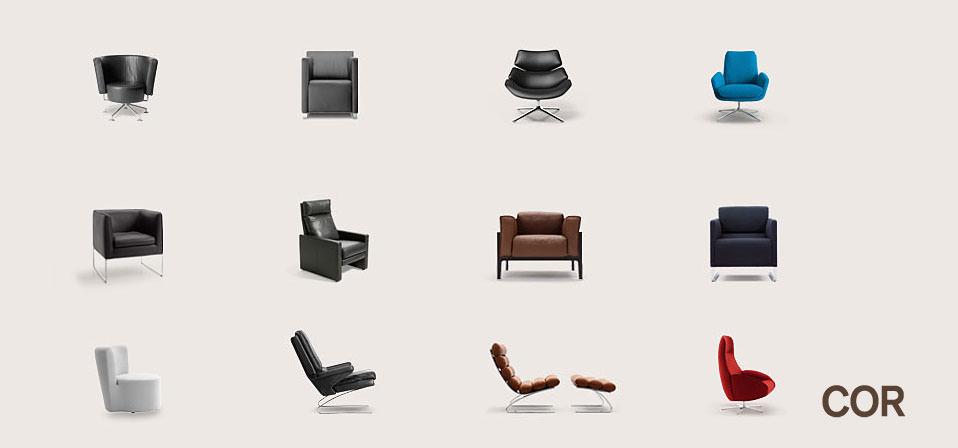 polsterm bel von cor rolf benz bei drifte wohnform. Black Bedroom Furniture Sets. Home Design Ideas