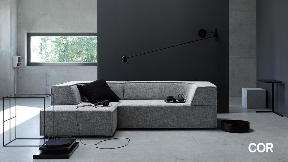 cor trio sofa tokyo drifte wohnform. Black Bedroom Furniture Sets. Home Design Ideas