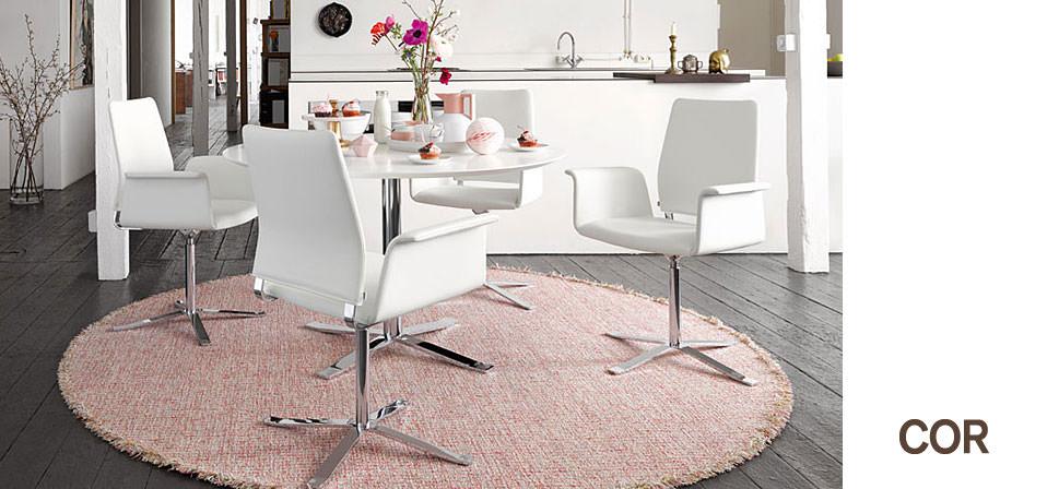 cor fino st hle und tisch drifte wohnform. Black Bedroom Furniture Sets. Home Design Ideas