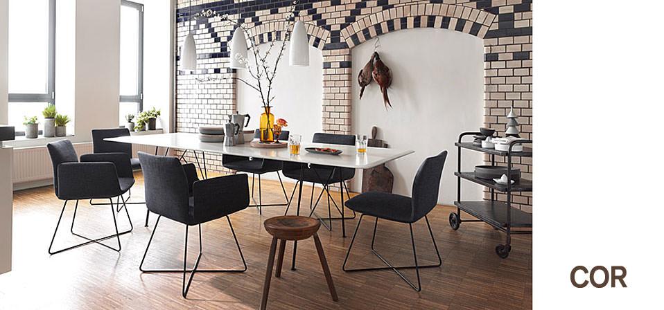 cor st hle und tische jalis drifte wohnform. Black Bedroom Furniture Sets. Home Design Ideas