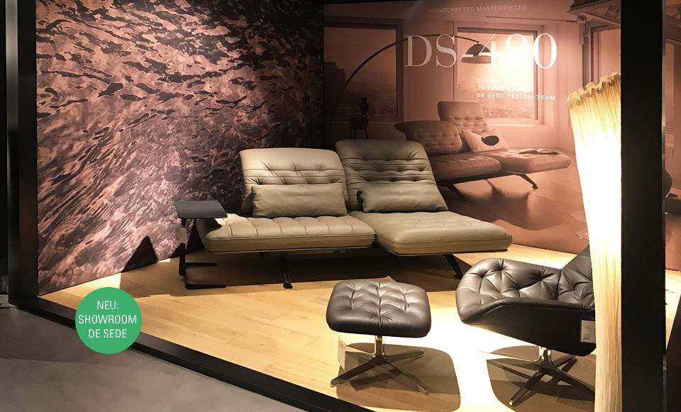 De sede m bel drifte wohnform - De sede showroom ...