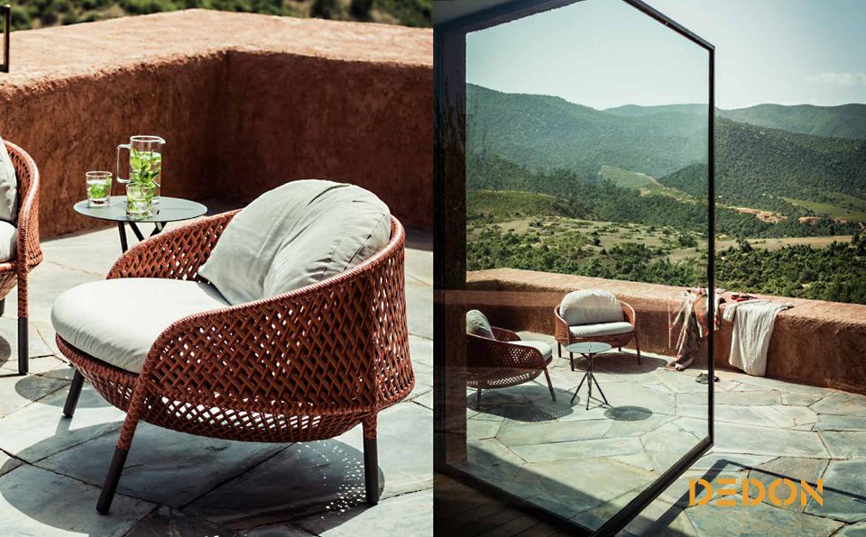 Dedon Ahnda Outdoormöbel, Gartenmöbel - Drifte Wohnform