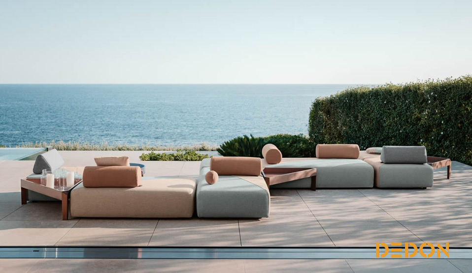 outdoor m bel z b von dedon vitra fatboy und fermob drifte wohnform. Black Bedroom Furniture Sets. Home Design Ideas