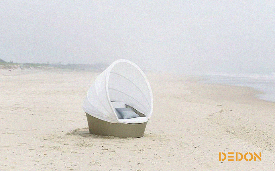 DEDON ORBIT Outdoor-Sofainsel