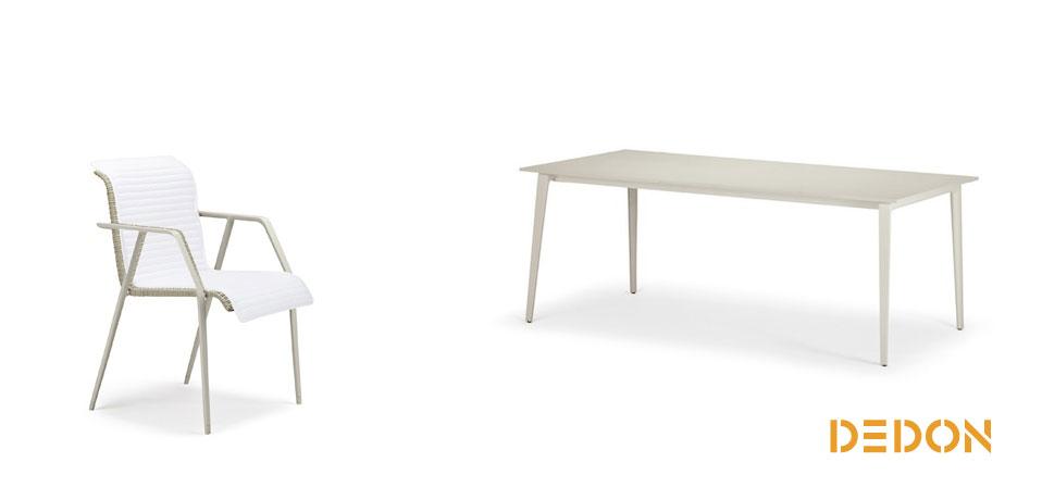 dedon wa outdoor st hle und tische drifte wohnform. Black Bedroom Furniture Sets. Home Design Ideas