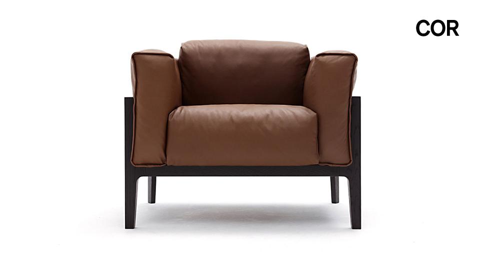 cor sessel elm drifte wohnform. Black Bedroom Furniture Sets. Home Design Ideas