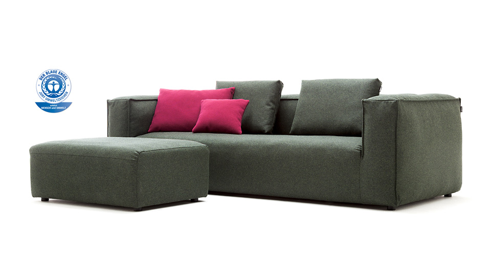 freistil 175 sofa rolf benz drifte wohnform. Black Bedroom Furniture Sets. Home Design Ideas