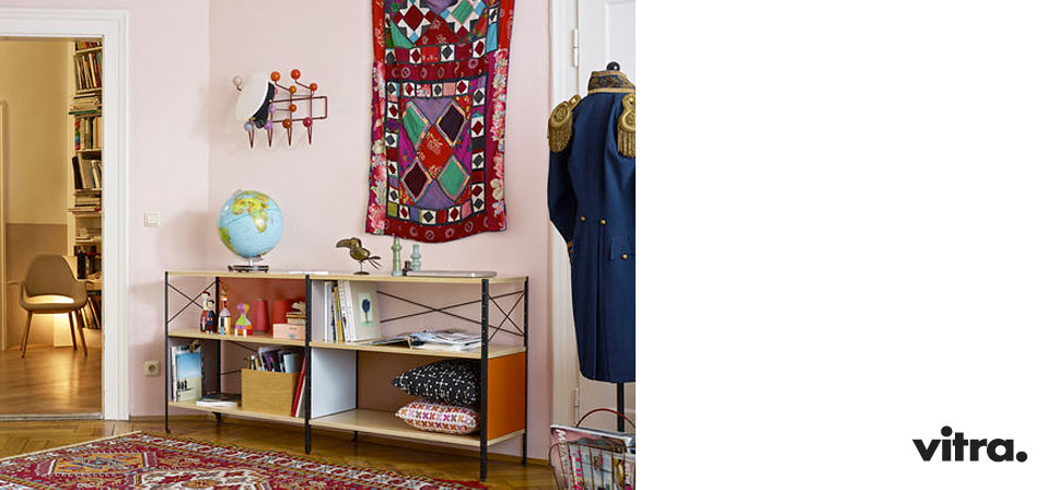 hang it all garderobe vitra hang it all garderobe rot charles ray eames hang it all garderobe. Black Bedroom Furniture Sets. Home Design Ideas