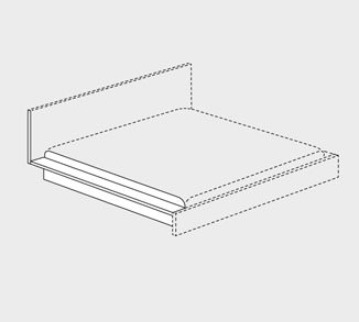 interl bke bett l bett drifte wohnform. Black Bedroom Furniture Sets. Home Design Ideas