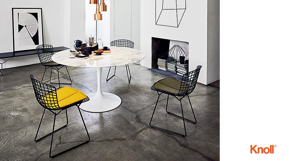 knoll international bertoia side chair drifte wohnform. Black Bedroom Furniture Sets. Home Design Ideas