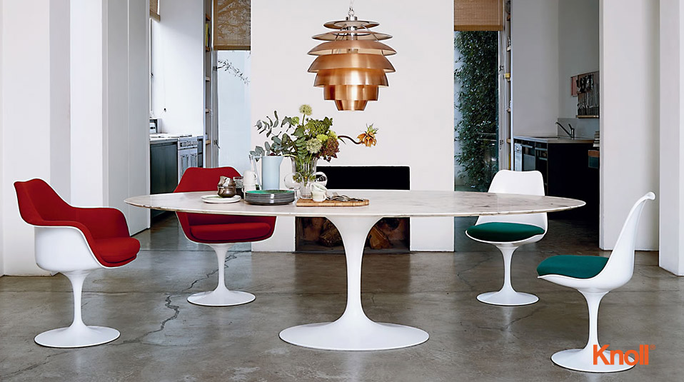 Knoll international saarinen tulip esstisch drifte wohnform for Esstisch designklassiker