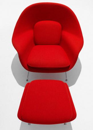 Knoll International Saarinen Womb Stuhl Drifte Wohnform