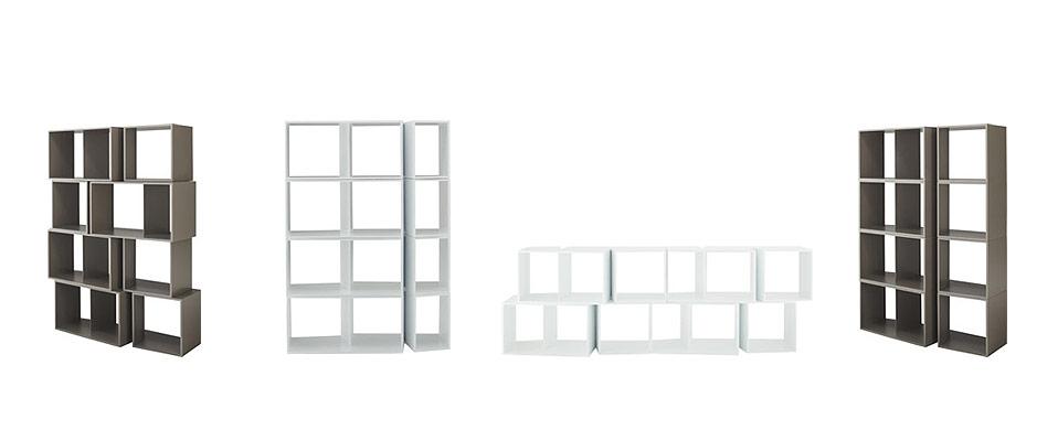 ligne roset regalmodul cuts drifte wohnform. Black Bedroom Furniture Sets. Home Design Ideas