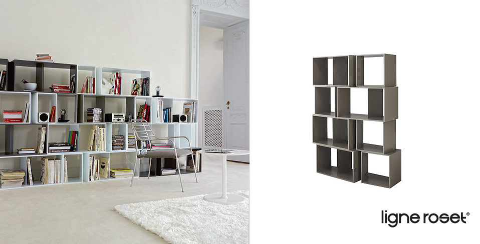 ligne roset regalmodul cuts drifte wohnform. Black Bedroom Furniture Sets. Home Design Ideas