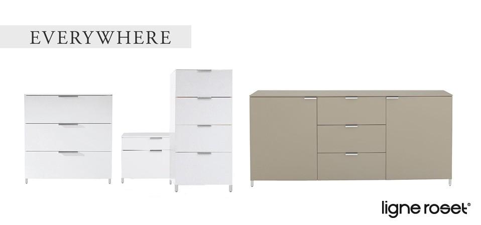 ligne roset regale und schr nke drifte wohnform. Black Bedroom Furniture Sets. Home Design Ideas