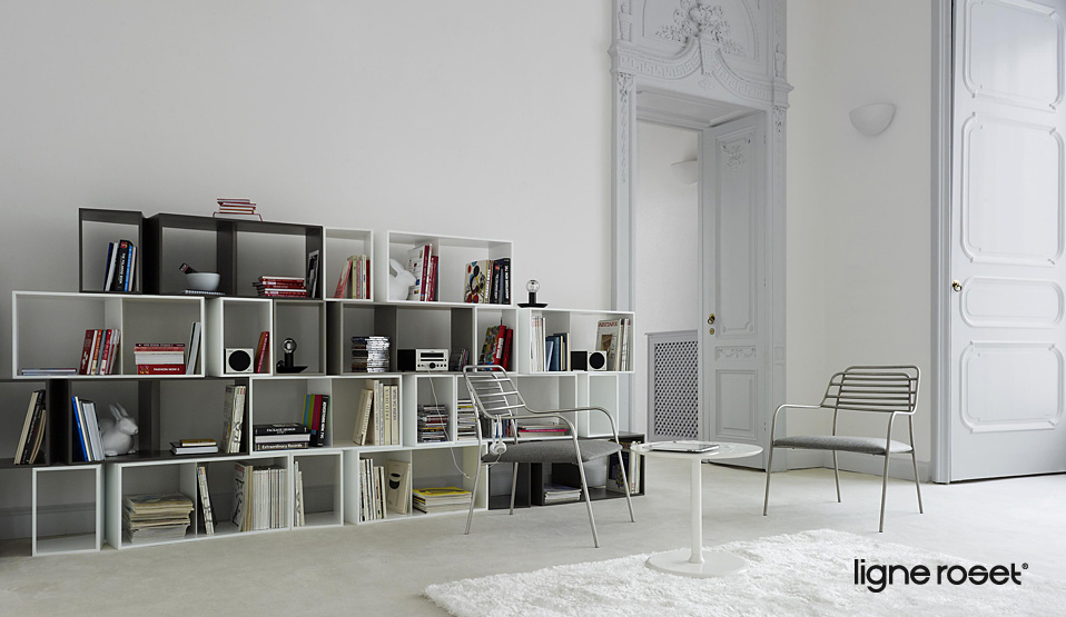 ligne roset cuts regal drifte wohnform. Black Bedroom Furniture Sets. Home Design Ideas