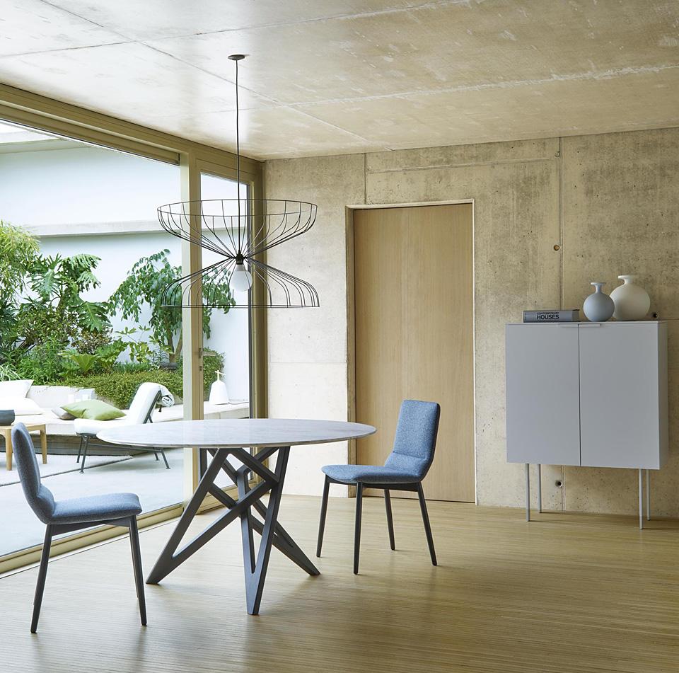 ligne roset ennea tisch drifte wohnform. Black Bedroom Furniture Sets. Home Design Ideas