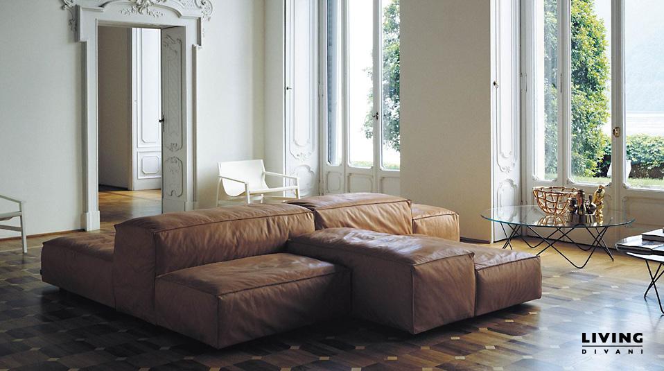 living divani sofa extrasoft drifte wohnform. Black Bedroom Furniture Sets. Home Design Ideas