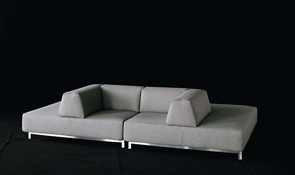 living divani sofa metro 2 drifte wohnform. Black Bedroom Furniture Sets. Home Design Ideas