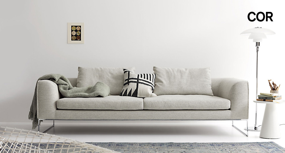 sofa mell lounge von cor drifte wohnform. Black Bedroom Furniture Sets. Home Design Ideas