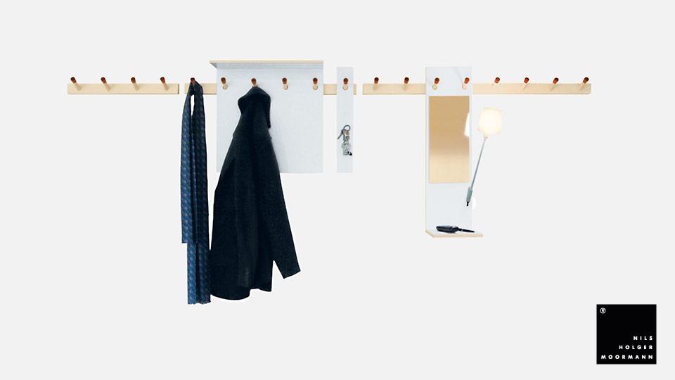 jacken garderobe haloring. Black Bedroom Furniture Sets. Home Design Ideas