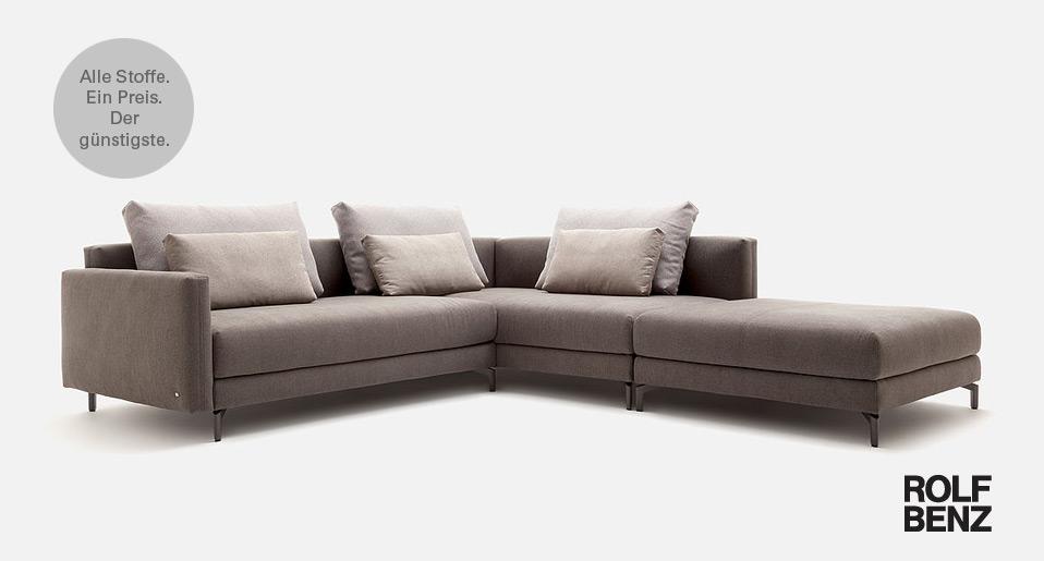 rolf benz sofa nuvola drifte wohnform. Black Bedroom Furniture Sets. Home Design Ideas