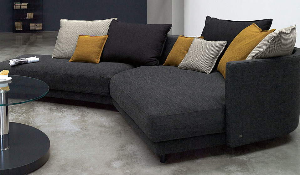 rolf benz onda sofa drifte wohnform. Black Bedroom Furniture Sets. Home Design Ideas