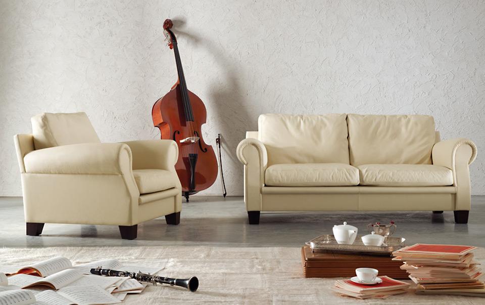 poltrona frau sofa sessel austen drifte wohnform. Black Bedroom Furniture Sets. Home Design Ideas