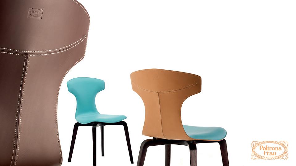 Sessel mit hocker design poltrona frau stuhl sessel for Ohrensessel tutti